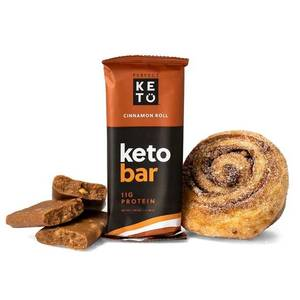 Keto Bar - der Riegel von perfect KETO  | einzelner Riegel, Cinnamon Roll