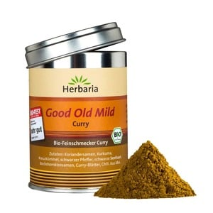 Good Old Mild Curry, Herbaria, 80g | Bio-Feinschmecker Curry | Artikelnummer: 0096