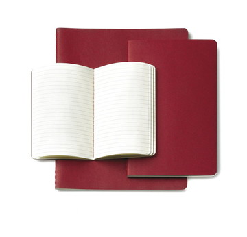 Moleskine Cahier Rot /Red | Pocket Blanko / Plain | Artikelnummer: 930970-pocket-blanko