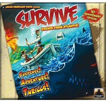 Survive: Escape from Atlantis | englische Fassung | Artikelnummer: 736211371911