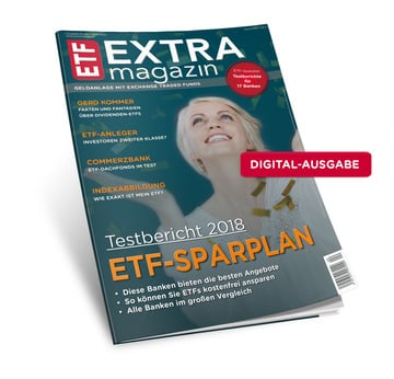 ETF-Sparplantest 2018 (Digital-Version) | Ausgabe April 2018 | Artikelnummer: 201804D