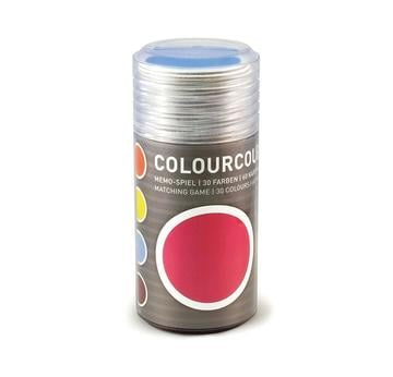 Colourcouple Memo-Spiel von Siebensachen  | 30 different colors | Artikelnummer: 7001-S