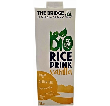 The Bridge Bio Rice Drink Vanilla 1000ml | MHD 29.12.19 | Artikelnummer: 100312
