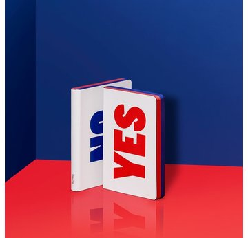 Graphic S  Yes - No von nuuna | Rot-Blau / Red-Blue | Artikelnummer: 4260358552989