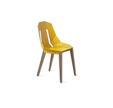 DIAGO Chair | Sunny yellow w/ walnut | Artikelnummer: Tabanda_chair_002