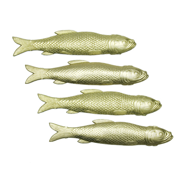 Dresdner Ornament – 4 Goldfische | Dresden Ornament – 4 Gold Fishes | Artikelnummer: ef
