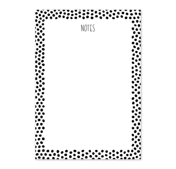 Notizblock A5 Notes Punkte |  | Artikelnummer: 2