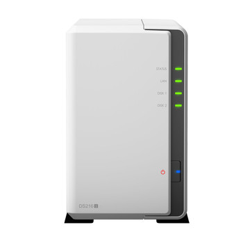 Synology DS216j incl. 12TB (2 x 6TB) Seagate NAS 24/7 RAID Server Bundle | ab Lager lieferbar! | Artikelnummer: DS216j 2-Bay 12TB Seagate