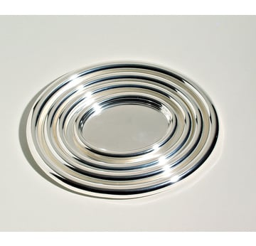 Oval tray Josef Hoffmann | Produced by Alessi | Artikelnummer: Design_014