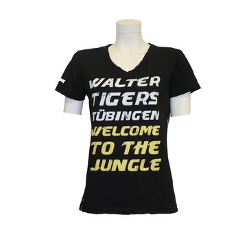 T-Shirt WELCOME TO THE JUNGLE (für Tigerinnen) |  | Artikelnummer: WTT-FA-003-XL