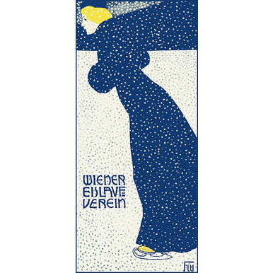 Advertising poster 1903 | Wiener Eislaufverein | Artikelnummer: PODE-BI-12983-1-3-A2