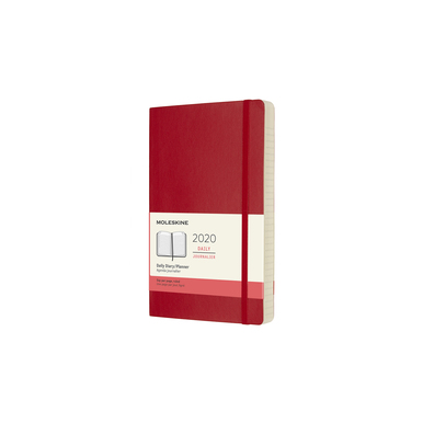 2020 Moleskine Daily Diary Large | Softcover, rot / red | Artikelnummer: 628806 soft_rot