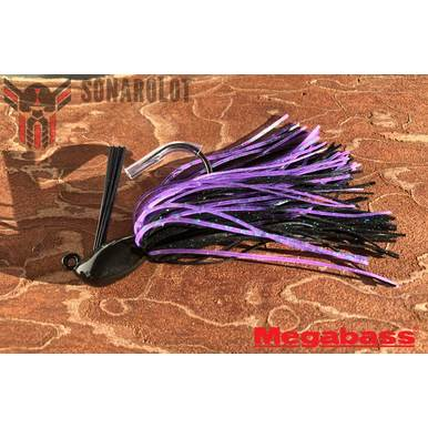 Megabass - Survival Jig - 1/4 OZ | Black Purple #06 | Artikelnummer: 100105