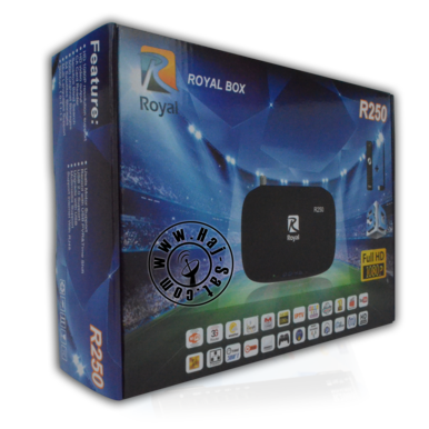 Royal Receiver R250-HD IPTV&Sat Box +24 Months Abonnement  | New 2017 | Artikelnummer: RRB250