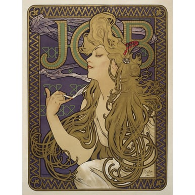JOB | Advertising Poster 1896 | Artikelnummer: POD-PI-4455-A4S