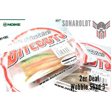 2er Deal - Wobble Shad 3