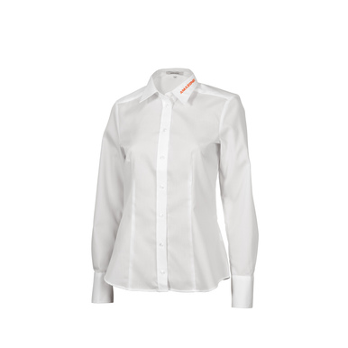 Damen-Business-Bluse, weiß, Langarm |  | Artikelnummer: ML301