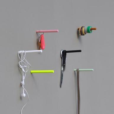 Pin Hook | Neon Yellow - 10cm | Artikelnummer: 24.06