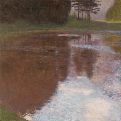 GUSTAV KLIMT: A Morning by the Pond |  | Artikelnummer: POD-LM-02007-A4SE