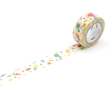 mt for Kids Masking Tape  | Bunte Kleckse / Colourful Splotches | Artikelnummer: MT01KID21Z