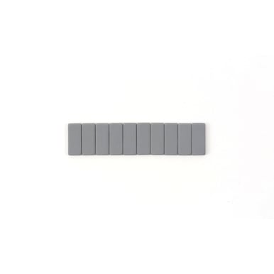 Blackwing Ersatzradiergummi  / Replacement Eraser | Grau / Grey | Artikelnummer: radier-grau