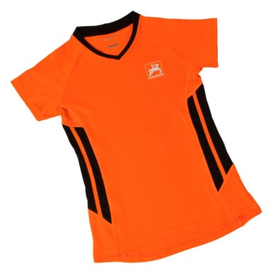 Damen-Sportshirt, orange |  | Artikelnummer: ML418