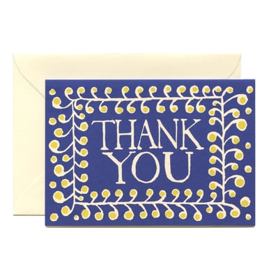 Thank You Karte  /  Thank You Card | Cambridge Imprint | Artikelnummer: cambridge_thankyou