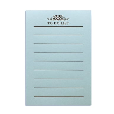 To-Do Block – Rivoli Papier / To Do List |  | Artikelnummer: mzw-todo