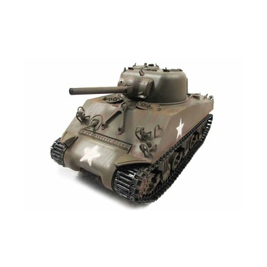 RC-Panzer M4A3 Sherman, Metal Army Green, RTR, TRUE Sound, |  | Artikelnummer: 23084