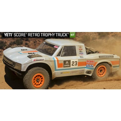 Yeti™ SCORE® Trophy Truck® 1/10 Scale Electric 4WD – Kit  |  | Artikelnummer: AX90068