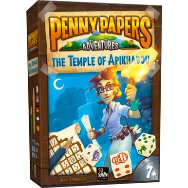 Penny Papers Adventures: The Temple of Apikhabou |  | Artikelnummer: 660042425430