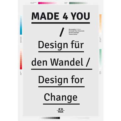 MADE 4 YOU | Design für den Wandel | Artikelnummer: 201206