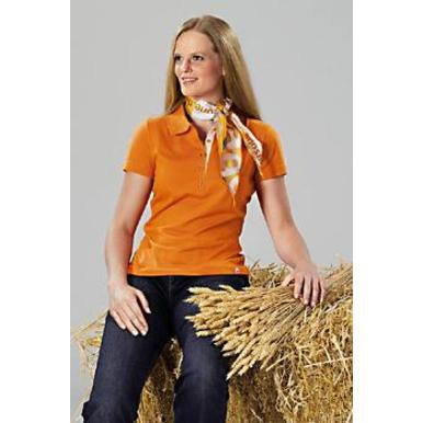 Damen-Team-Poloshirt, orange | Damen | Artikelnummer: ML024