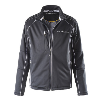 Black Falcon Softshell Jacke |  | Artikelnummer: UK-1002-18-S