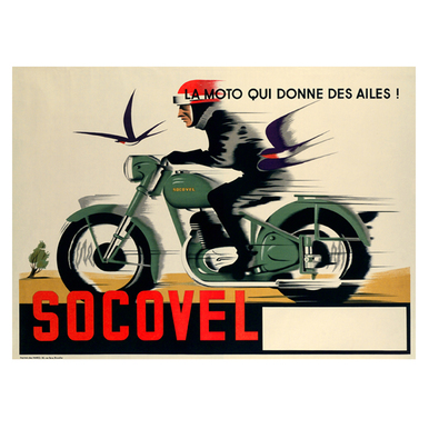 SOCOVEL | Advertising Poster 1930 | Artikelnummer: POD-PI-13368-A2S