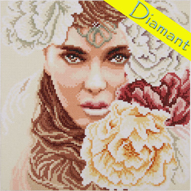 Enchanting Eyes - Diamond Painting pakket - Lanarte |  | Artikelnummer: ln-184514