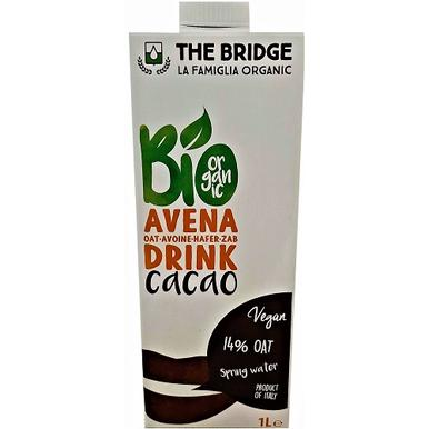The Bridge Bio Hafer Drink Cacao 1000ml | MHD 20.10.19 | Artikelnummer: 100300