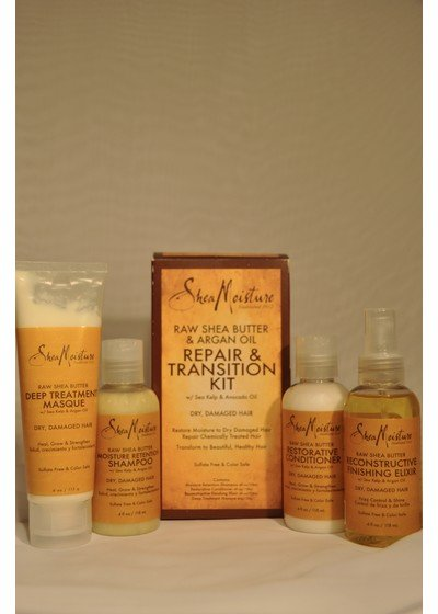 SheaMoisture RawShea Repair & Transition Kit (4er-Set)