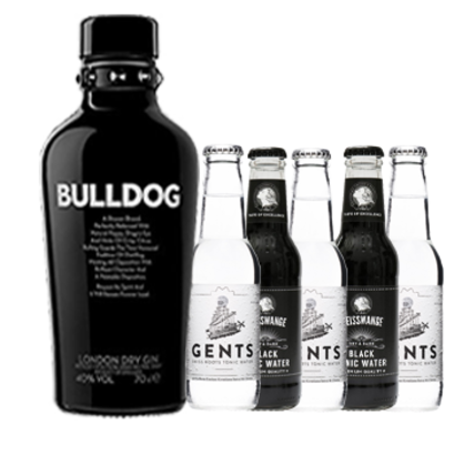 Bulldog Gin & Black/White Tonic