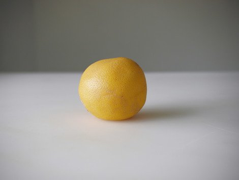 One dollar's worth of organic grapefruit from the natural food store, 2010 | Edition 15+2 AP, Serie: