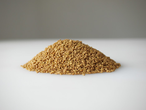 One dollar's worth of fenugreek seeds from India, 2010 | Edition 15+2 AP, Serie:
