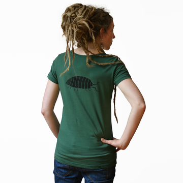 Greta Assel T-Shirt  | bottle green | Artikelnummer: Cmig101