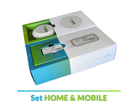 Vivobase Set Home & Mobile  | Artikelnummer: 001004