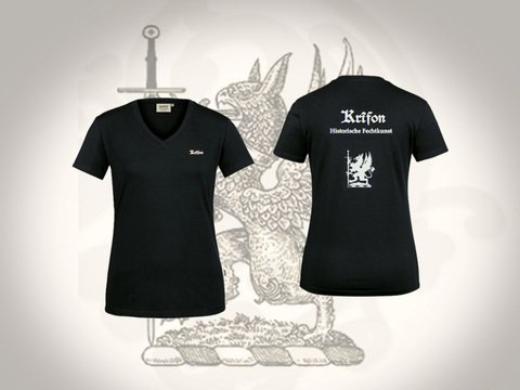 Krîfon V-Shirt  - Ladies | Artikelnummer: TEX102