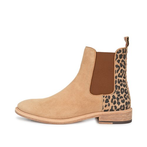 CRICKIT-Chelsea Boot Stiefelette-ABIGAIL Suede Hanf