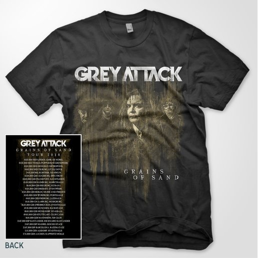 GREY ATTACK T-SHIRT - GRAINS OF SAND |  | Artikelnummer: 700001-4