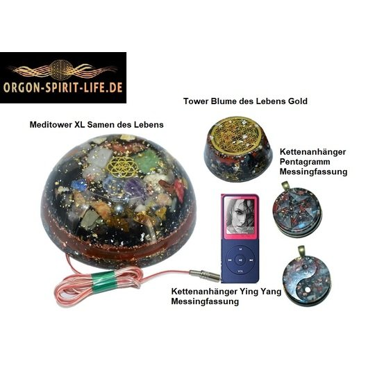 Orgonit Set Meditower XL