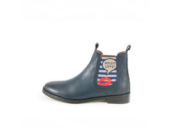 JULIA Navy Hello Love | Chelsea Boot. Fashion. Pop. | Artikelnummer: TORRENT10453797_41
