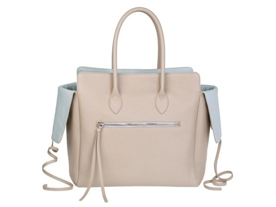 Kate | Day Bag Kalbsleder creme | Artikelnummer: NB 203-4