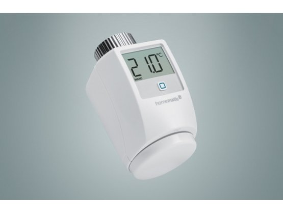 Homematic IP Heizkörperthermostat | HMIP-eTRV-2 für Smart Home / Hausautomation | Artikelnummer: 140280A0